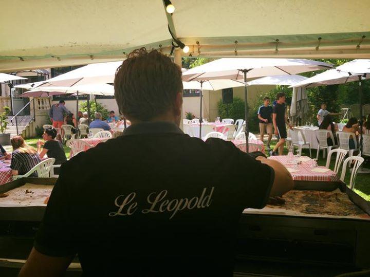 Déjeuner barbecue au restaurant Léopold ce midi