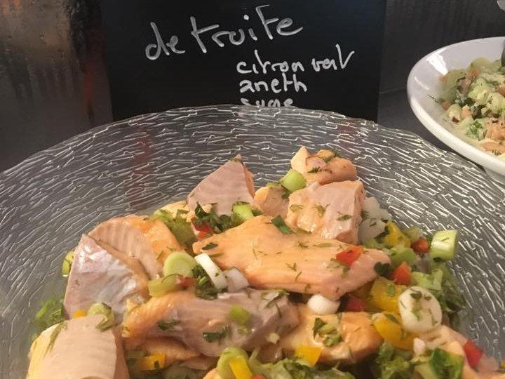 Quelques nouveautés aux buffets du restaurant Léopold Ceviche de …